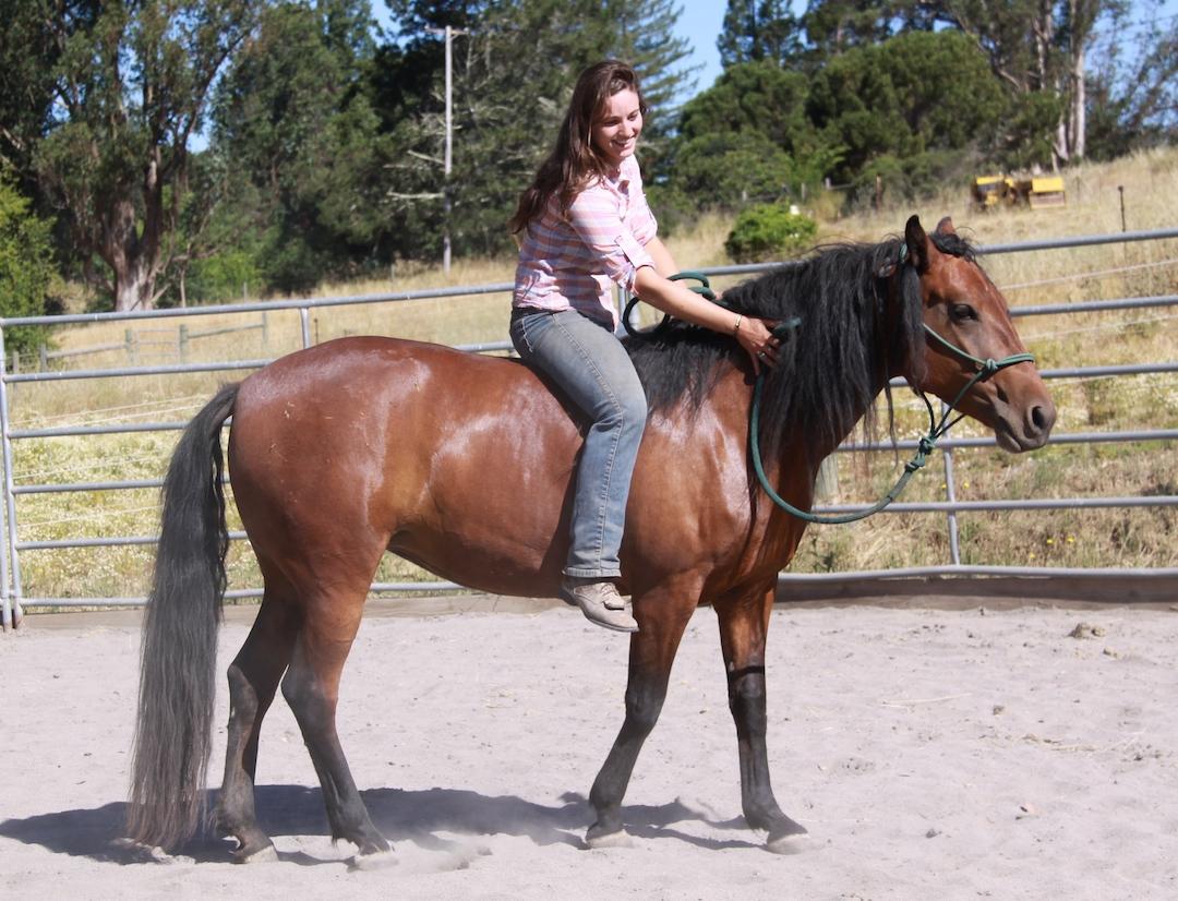 Bella 1st ride